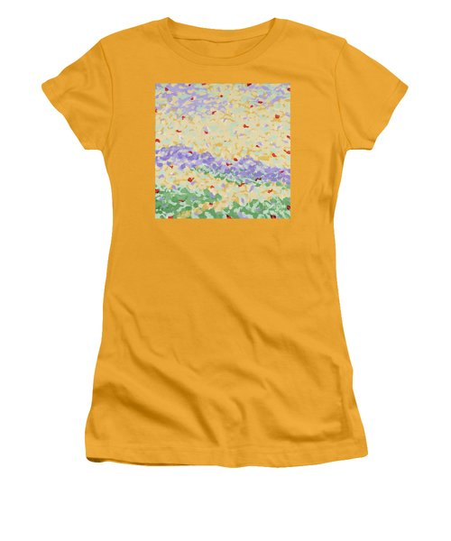 Modern Landscape Painting 4 Women's T-Shirt (Athletic Fit)