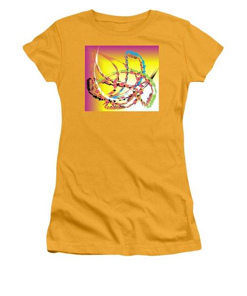 Molecular Energy Women's T-Shirt (Athletic Fit)