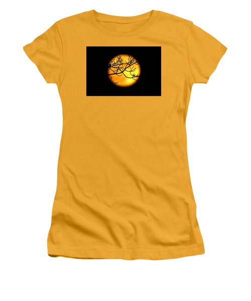 Moon In The Trees Women's T-Shirt (Athletic Fit)