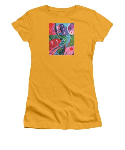 More Love Women's T-Shirt (Junior Cut) by Helena Tiainen
