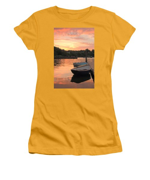 Morning Calm Women's T-Shirt (Junior Cut) by Roupen  Baker