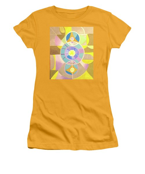 Morning Glory Geometrica Women's T-Shirt (Athletic Fit)