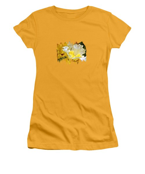 Morning Iris Women's T-Shirt (Junior Cut) by Thom Zehrfeld