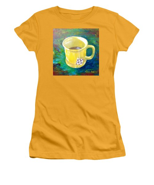 Morning Tea Women's T-Shirt (Athletic Fit)