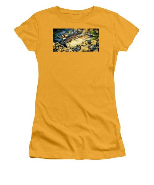 Mother Killdeer 3 Women's T-Shirt (Athletic Fit)