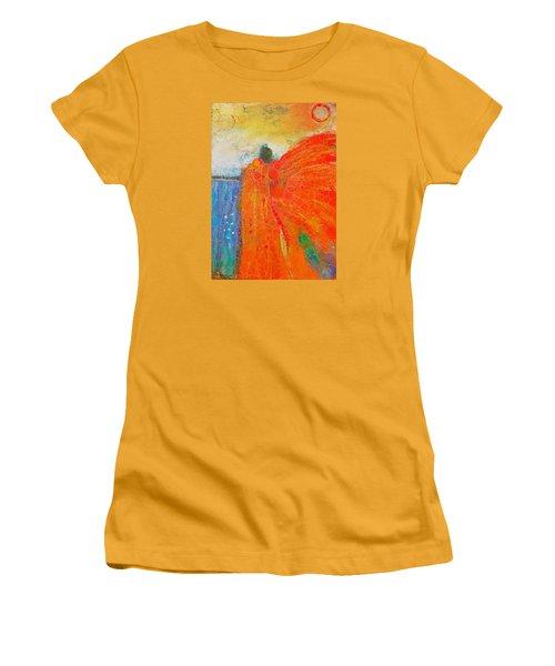 Mprints - Angel Of The Morning Women's T-Shirt (Junior Cut) by M Stuart