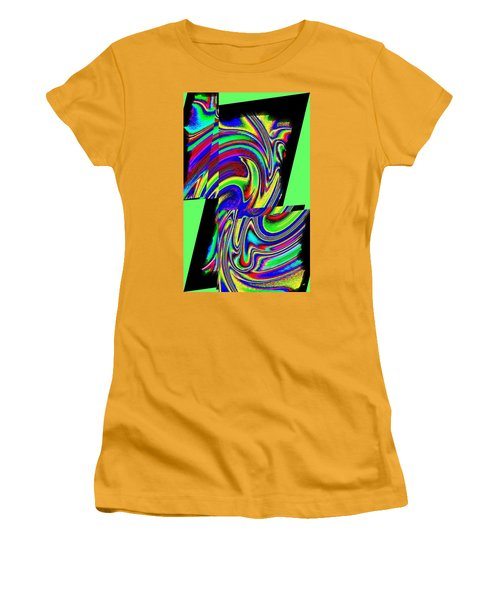 Women's T-Shirt (Athletic Fit) featuring the digital art Muse 46 by Will Borden