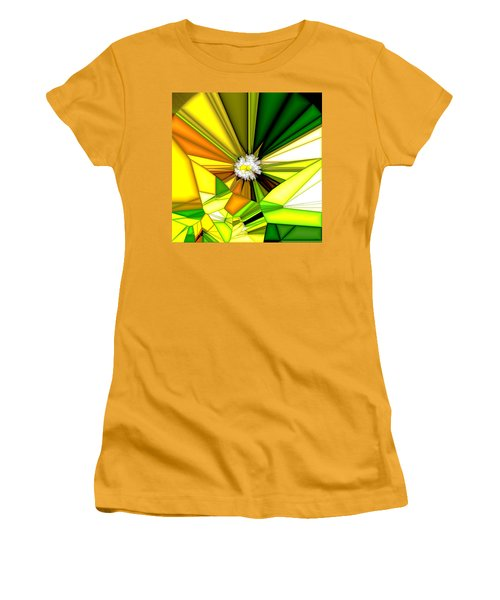 My Little Digital Daisy Women's T-Shirt (Athletic Fit)