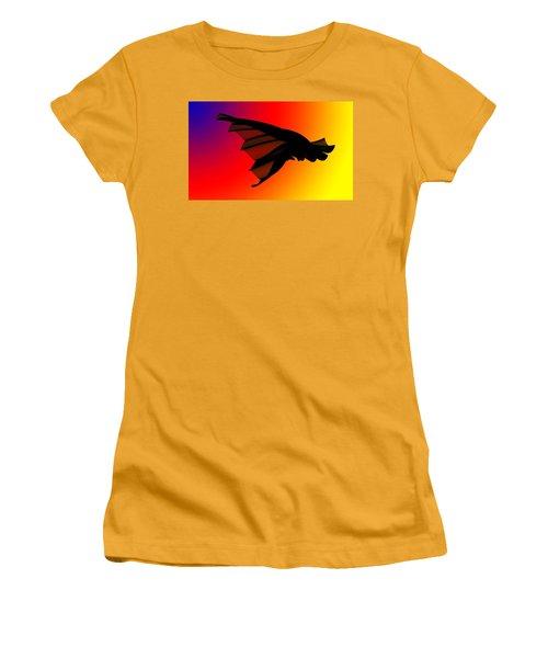 Mystery In Flight Women's T-Shirt (Junior Cut) by Allen Beilschmidt
