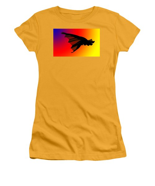 Mystery In Flight Women's T-Shirt (Athletic Fit)