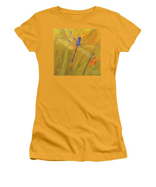 Mystic Dragonfly Women's T-Shirt (Junior Cut) by Mary Hubley