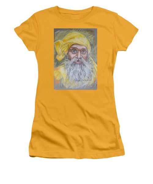 Nepal Man 6 Women's T-Shirt (Junior Cut) by Marty Garland