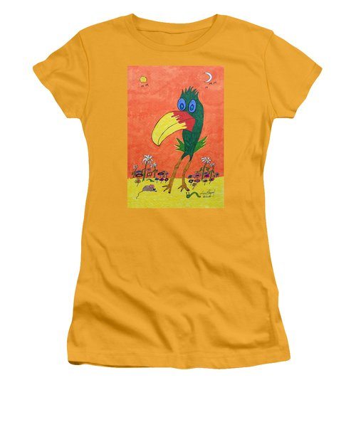 New Bird On The Block Women's T-Shirt (Athletic Fit)