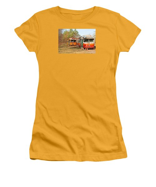 No Stops Women's T-Shirt (Junior Cut) by Michael Porchik