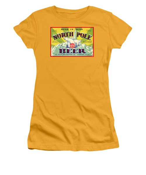 North Pole Beer Women's T-Shirt (Athletic Fit)