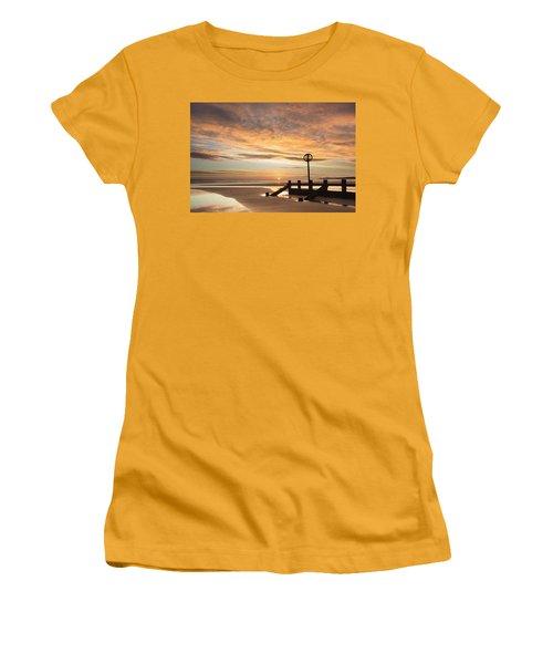 November Sunrise Women's T-Shirt (Athletic Fit)