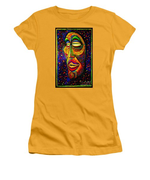 Ol' Funny Face Women's T-Shirt (Junior Cut) by Kelly Awad