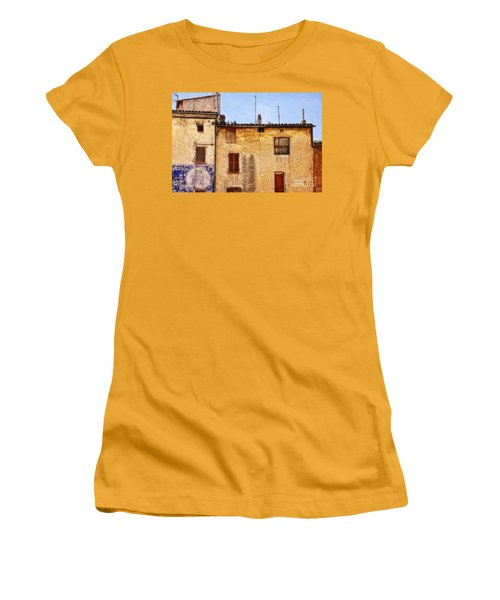Old Walls In Provence Women's T-Shirt (Athletic Fit)