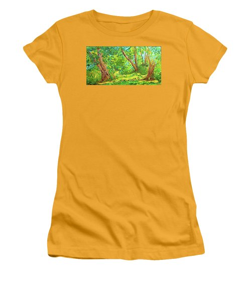 On The Path Women's T-Shirt (Junior Cut) by Susan D Moody