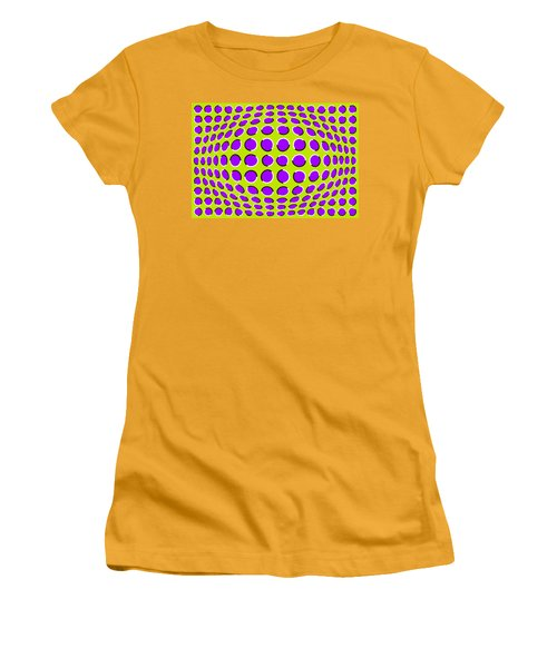 Optical Illusion The Ball Women's T-Shirt (Athletic Fit)