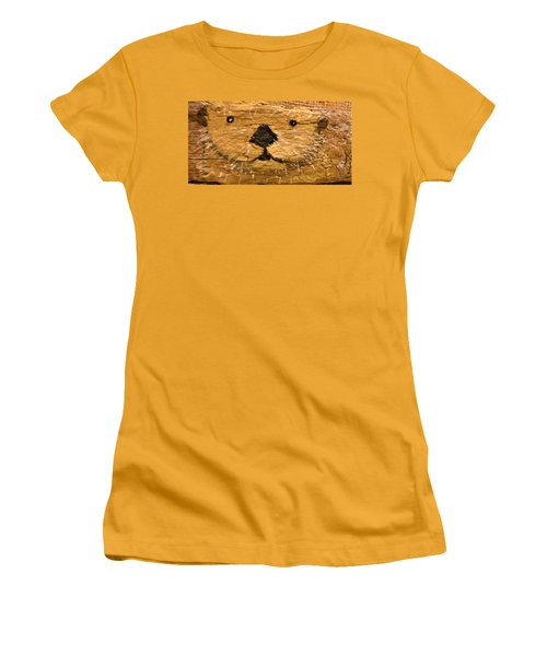 Otter Women's T-Shirt (Junior Cut) by Ann Michelle Swadener