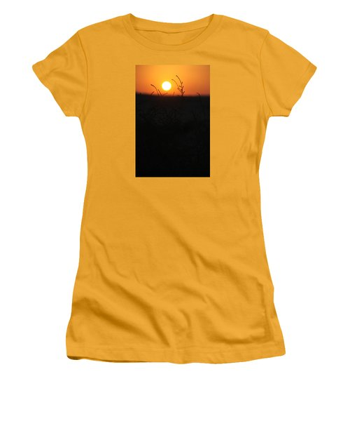 Women's T-Shirt (Junior Cut) featuring the photograph Our Growth by Jez C Self
