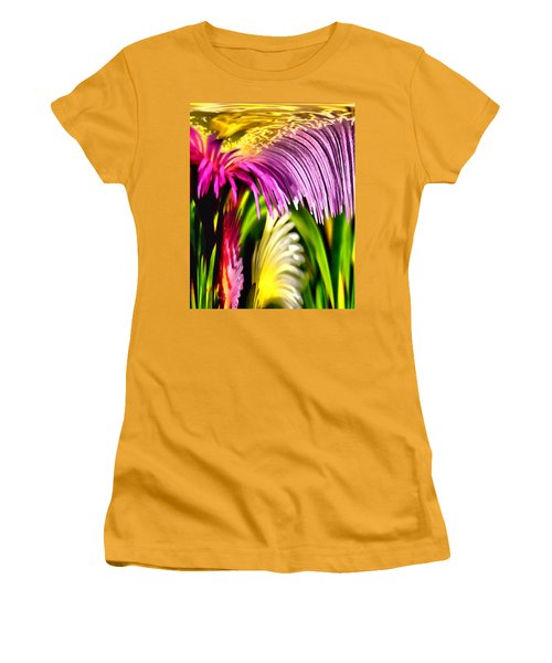 Overflow Women's T-Shirt (Junior Cut) by Bob Wall