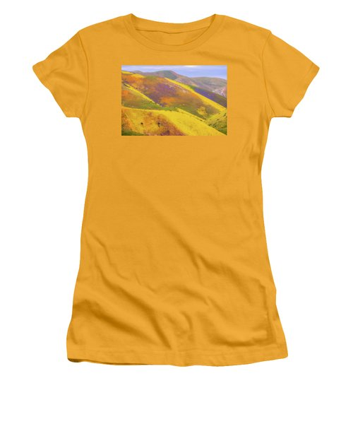 Painted Hills Women's T-Shirt (Junior Cut) by Marc Crumpler