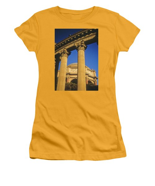 Palace Of Fine Arts, San Francisco Women's T-Shirt (Athletic Fit)