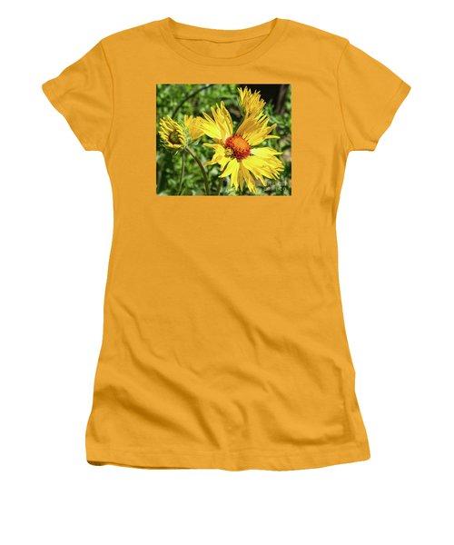 Patient Spider Women's T-Shirt (Junior Cut) by Steven Parker