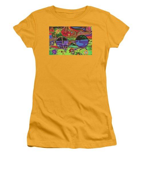 Peace Women's T-Shirt (Athletic Fit)