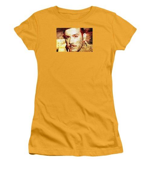 Pedro Infante Women's T-Shirt (Junior Cut) by J- J- Espinoza
