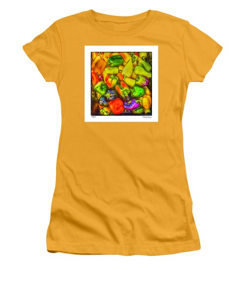 Peppers Women's T-Shirt (Athletic Fit)