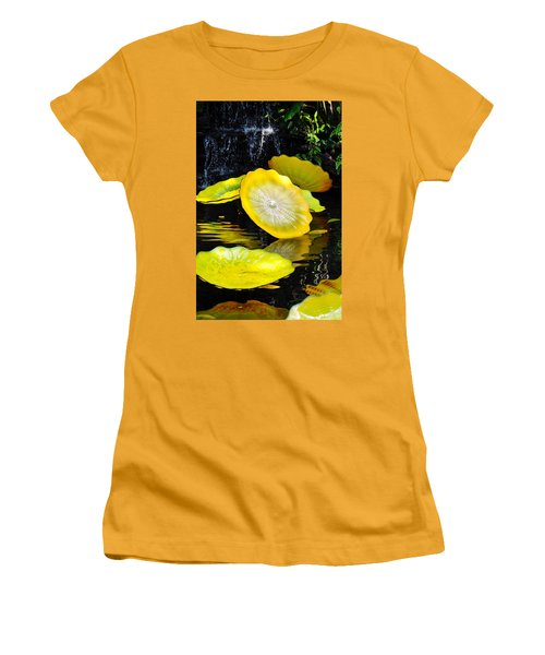 Persian Lily Pads Women's T-Shirt (Athletic Fit)