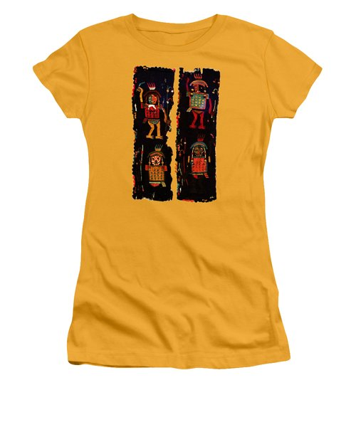 Peruvian Fab Art Women's T-Shirt (Athletic Fit)