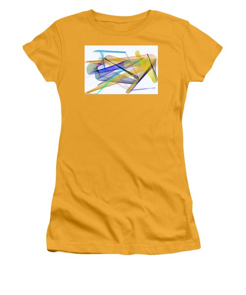 Women's T-Shirt (Athletic Fit) featuring the digital art Playground by Rafael Salazar