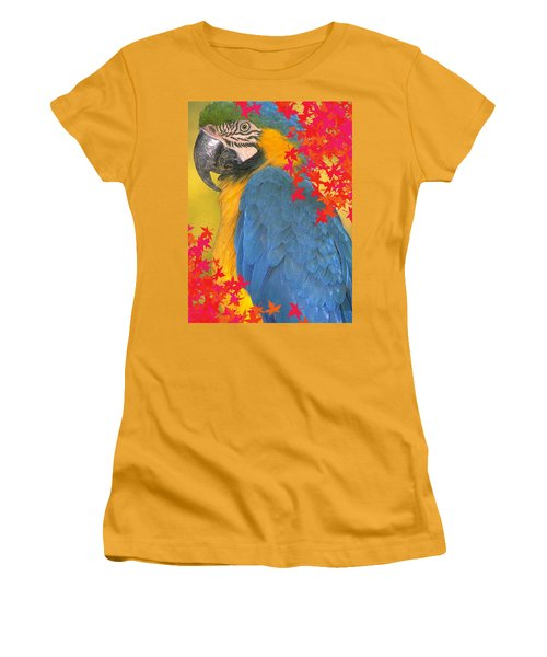 Polly Parrot Women's T-Shirt (Athletic Fit)
