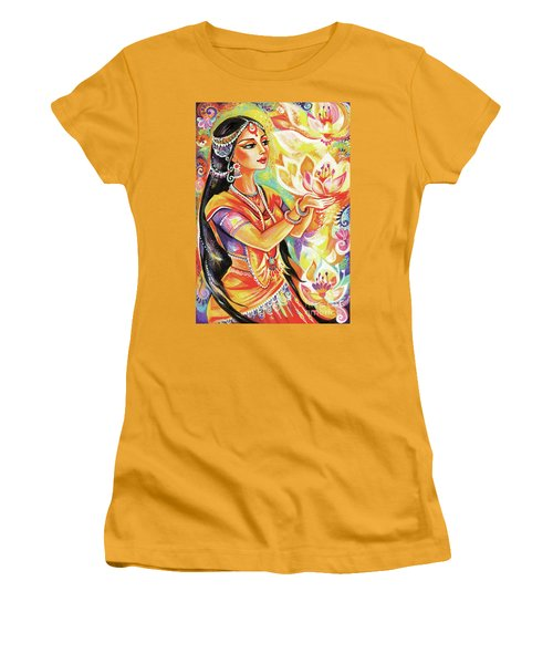 Pray Of The Lotus River Women's T-Shirt (Athletic Fit)