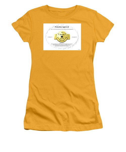 Protection Approved Women's T-Shirt (Athletic Fit)