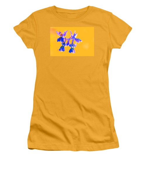 Orange Provence Orchid  Women's T-Shirt (Athletic Fit)