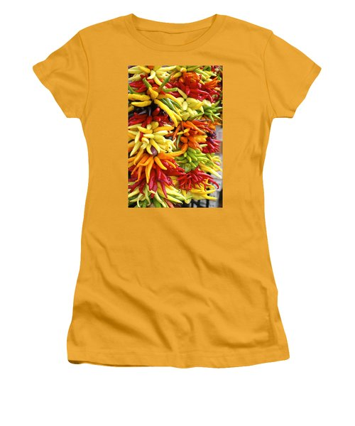 Public Market Peppers Women's T-Shirt (Athletic Fit)