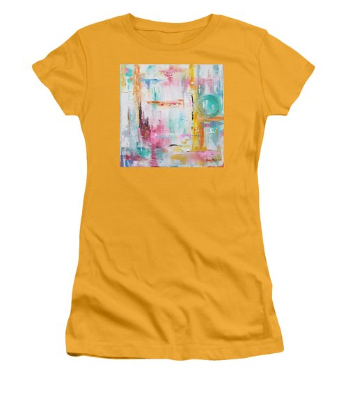 Pulling Strings Women's T-Shirt (Athletic Fit)
