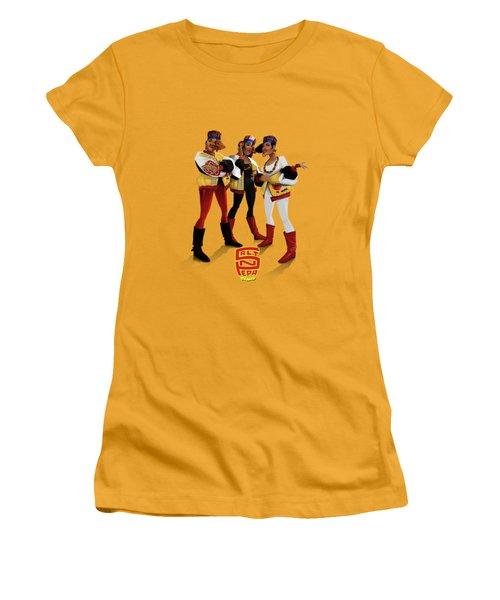 Push It Women's T-Shirt (Junior Cut) by Nelson Garcia