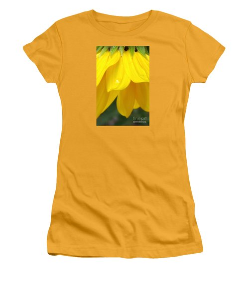 Rain And Sunshine On A Colorado Wildflower Women's T-Shirt (Athletic Fit)