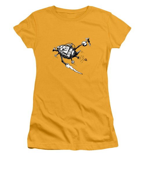 Rats In Space Women's T-Shirt (Athletic Fit)