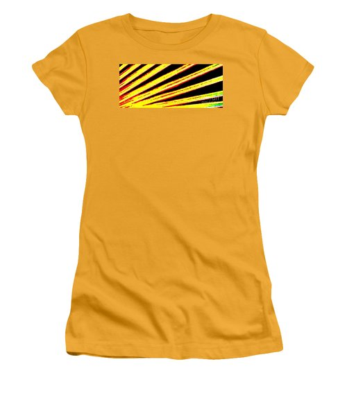 Rays Of Light Women's T-Shirt (Athletic Fit)