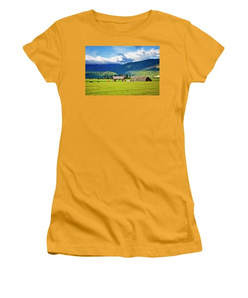 Women's T-Shirt (Junior Cut) featuring the photograph Recycled by Albert Seger