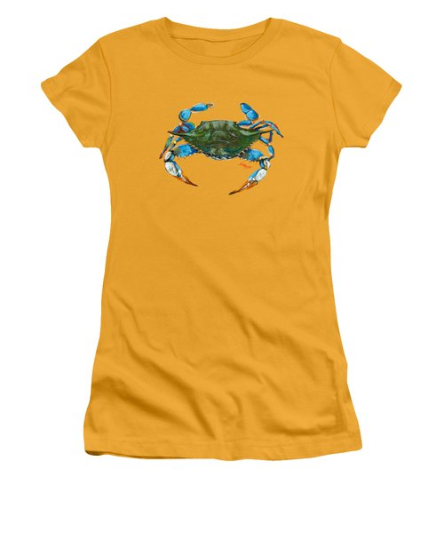 Red Hot Crab Women's T-Shirt (Athletic Fit)