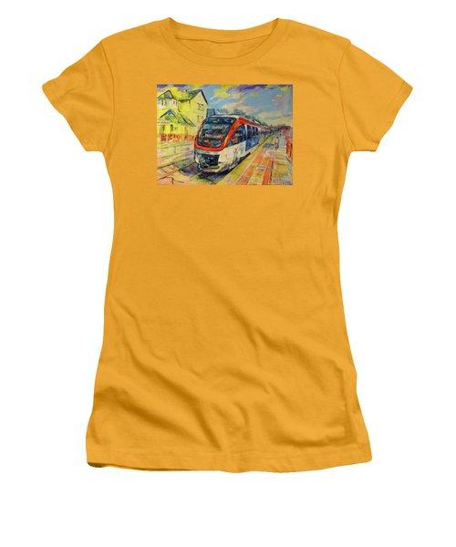 Regiobahn Mettmann Women's T-Shirt (Athletic Fit)