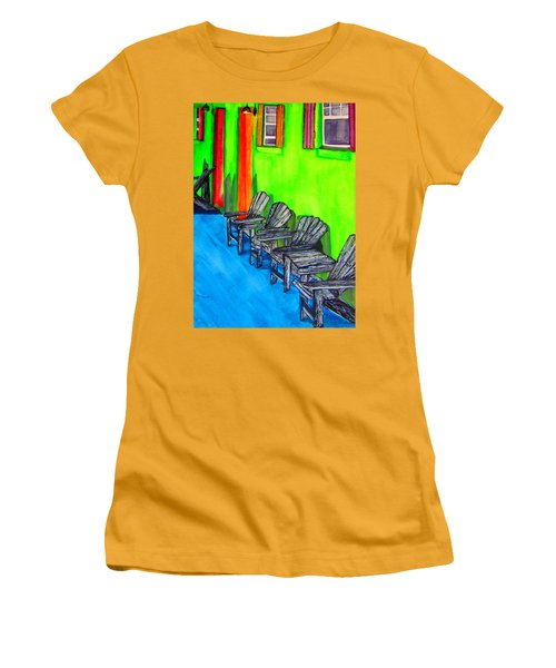 Relax Women's T-Shirt (Junior Cut) by Lil Taylor